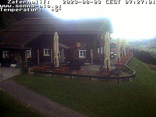 Webcam Zafernalift Hütte Sonnaalp Kleinwalsertal